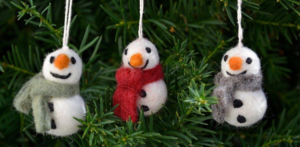 Pannolenci Lavoretti Di Natale.Decorazioni Natalizie Fai Da Te In Feltro E Pannolenci La Soffitta Di Serena